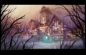Demon Tudor House by JetEffects