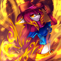 Fire Paradise by LeilaBC