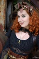 Miss Ginger Steam by MADmoiselleMeli
