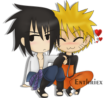 Sasunaru by Enthriex