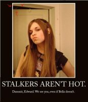 Stalkers Aren't Hot. by Katsumie