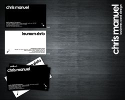 Chris Manuel Business Card by Thrill-Seeker
