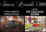 Simca Aronde - Tintin - the Calculus Affair by wchild