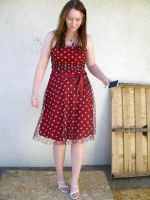 me red dress 8 by PhoeebStock
