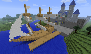 Minecraft: Ship Yard by CJ64
