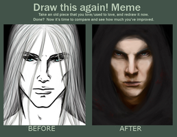 Draw THIS again- Before And After of Deliah by Mu-An