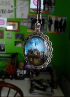 Collide With The Sky - Necklace by Ruthasaur