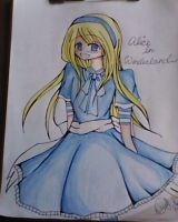 Alice from Alice in wonderland by Shiro6397
