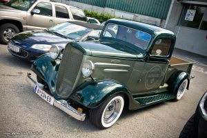 Chevy Pickup Hot Rod by AmericanMuscle