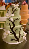 Branches Cake Front by aakahasha