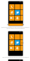 Windows Phone 8 Notification Center - Mockup by bluefisch200