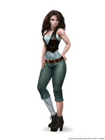 Commission - Layla Demirci Civilian by RoninDude