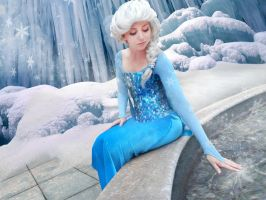Elsa Cosplay from Frozen by AshleyKayley