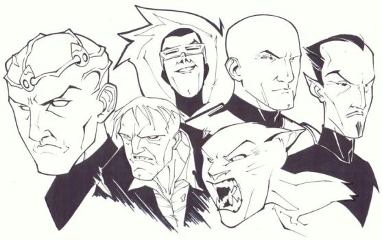 Legion of Doom by KidNotorious