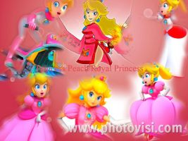 Princess Peach Royal Princess by RamosisMario89
