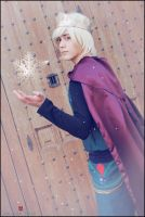 Elsa Cosplay Male Version 2 by atmJOSEFER