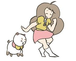 Bee Puppycat Dance [GIF] by ThatJemmaBayleyGirl