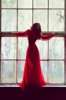 Lady in red by Mohsendesign