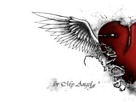 for my Angel by tomko89