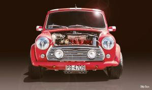 Mini Cooper by Rockwaved