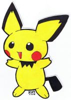 Pichu by fanchielover15