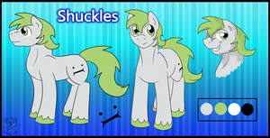 Shuckles Ref Sheet by StormBlaze-Pegasus