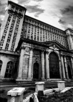 Michigan Central Station, Detroit by NeighborJohn