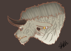 Charr sketch by Sketchyeh