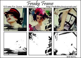 iconset01__Freaky Frames by evilrikku