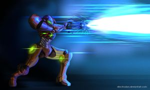Samus final smash by ElectroDan