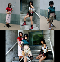 Final Fantasy VII Ladies by bipolar-cosplay
