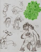 stravaganza creature doodles and more by FreckleFish
