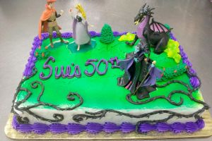 +Sleeping Beauty Cake+ by zoro-swordsman
