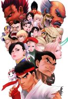 Street Fighter X Teken by solid-zonda