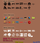 TV Channel icons pack by ati711