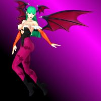 Morrigan - Seductive Flight by dnxpunk