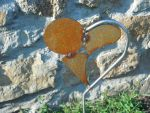 Heartpost by Metal-Sculpture