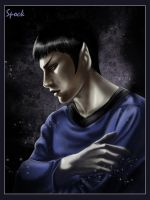 Spock by Syrkell