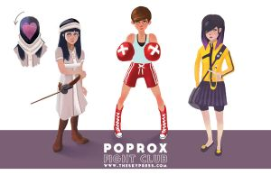 PopRox Fight Club by samwilliams