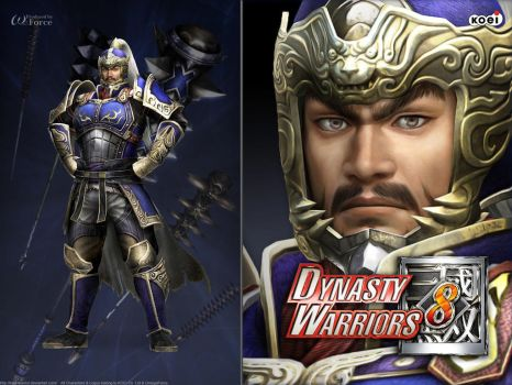DW8 Wallpaper - Pang De by Koei-Warrior