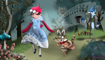 Regular Show - Margaret in Wonderland by yinlin1994