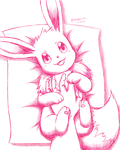 Eevee Love by Bluekiss131