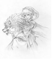 Legend of Zelda: Twilight Princess by XBunnybunz