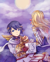 FE Heroes Count: 13 DAYS by joysuu