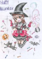Happy Halloween by Nisai
