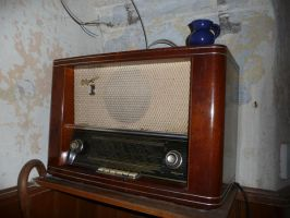 old radio by mimose-stock