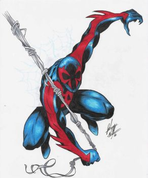 2099 Spidey by judegallagher28