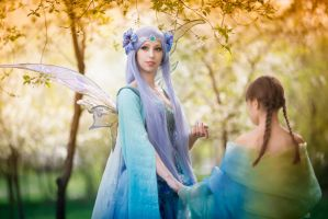 Fairy in the forest by Anita-Lust
