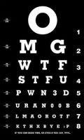 1337 Eye Chart by aphan9