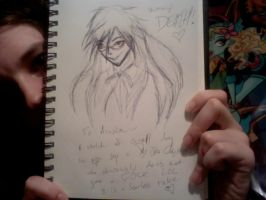 Grell Scribble by DuplicitousDichotomy